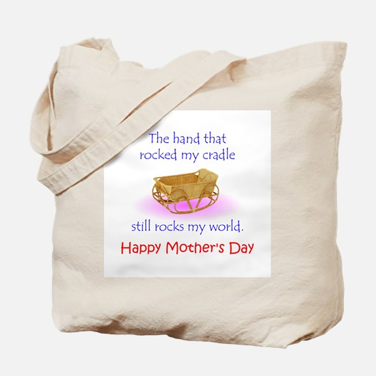 Mother's Hand Tote Bag
