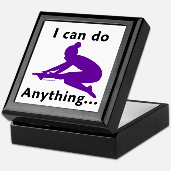 Gymnastics Keepsake Box - Anything