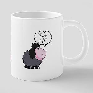 Rude Swearing Sheep Gift Mug Mugs