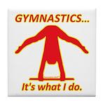 Gymnastics Tile Coaster - Do