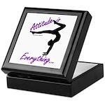 Gymnastics Keepsake Box - Attitude