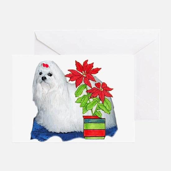 Maltese Christmas Greeting Card