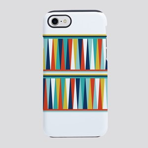 Colorful Triangles Design iPhone 8/7 Tough Case