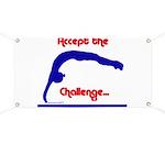 Gymnastics Banner - Challenge