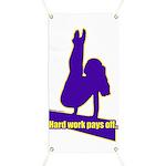 Gymnastics Banner - Work