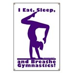 Gymnastics Banner - Eat