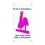 Gymnastics Banner - Champion