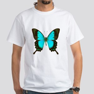 Albertisi Swallowtail Butterfly White T-Shirt