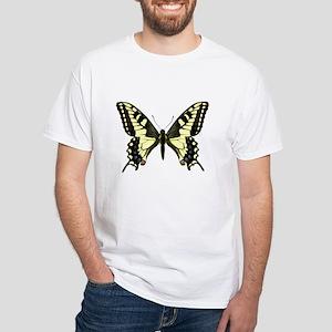 Oregon Swallowtail Butterfly White T-Shirt