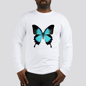Ulysses Swallowtail Butterfly Long Sleeve T-Shirt