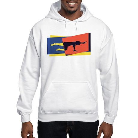 Cat Cow Pointer Hooded Sweatshirt