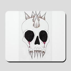 Spike Skull Mousepad