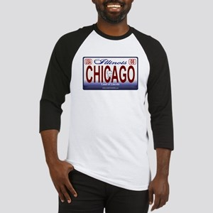 Chicago License Plate Baseball Jersey