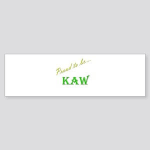 Kaw Bumper Sticker (10 pk)