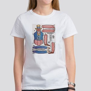 Uncle Sam Paper Doll T-Shirt