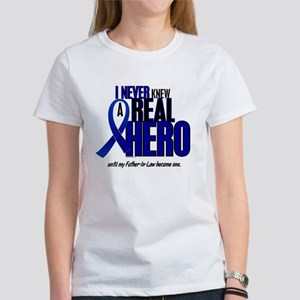 Never Knew A Hero 2 Blue (Father-In-Law) Women's T