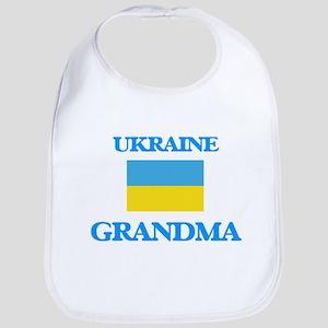 Ukraine Grandma Baby Bib