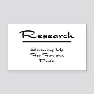 Research Humor Rectangle Car Magnet