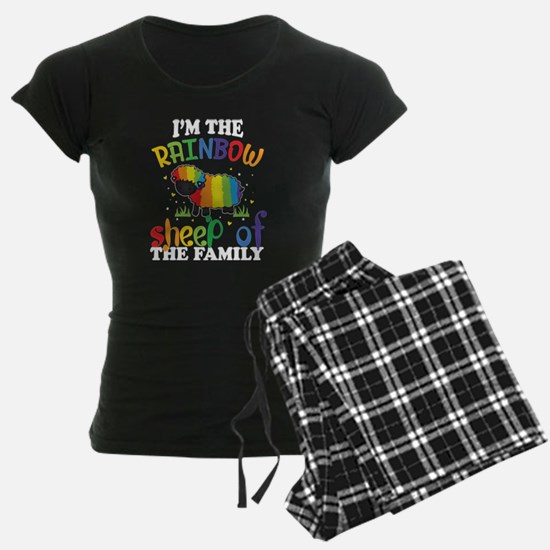 I'm The Rainbow Sheep Of The Family T Shir Pajamas