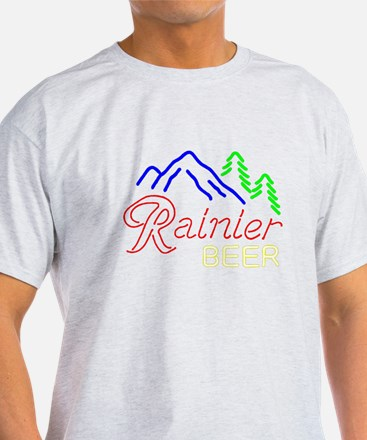 Rainier neon sign 1 T-Shirt