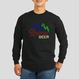 Rainier neon sign 1 Long Sleeve T-Shirt