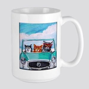 3 Cats In A Nash Metro Mugs