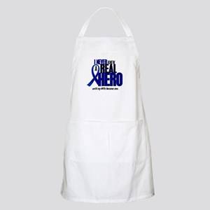 Never Knew A Hero 2 Blue (Wife) BBQ Apron