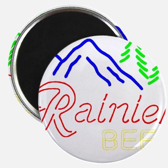 Rainier neon sign 1 Magnets