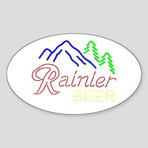 Rainier neon sign 1 Sticker