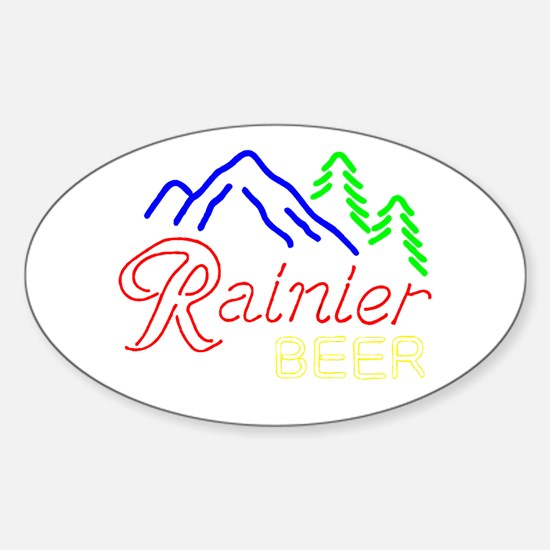 Rainier neon sign 1 Decal