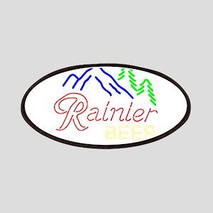 Rainier neon sign 1 Patch