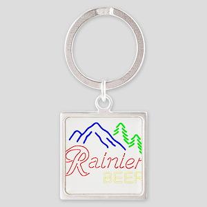 Rainier neon sign 1 Keychains