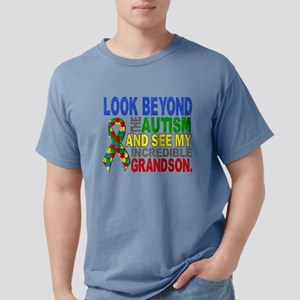 Look Beyond 2 Autism Grandson T-Shirt