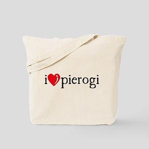 I Heart Pierogi Tote Bag