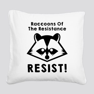 Join the raccoons of the resistance, Resist Square