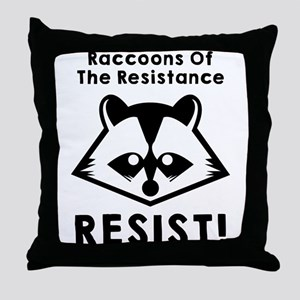 Join the raccoons of the resistance, Resist Throw