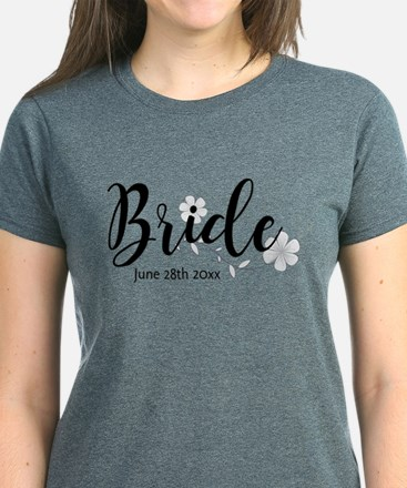 Bride Custom Women's Dark T-Shirt