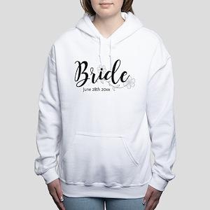 Bride Custom Women's Hooded Sweatshirt