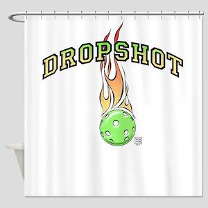 Dropshot, Pickleball Shower Curtain