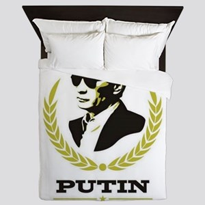 Vladimir Putin - Russian Leader Queen Duvet