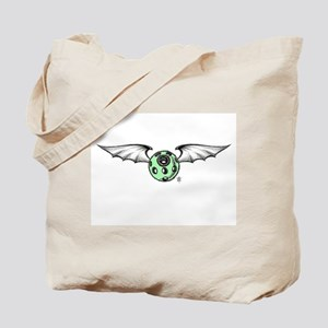 Flying eye-batwings Tote Bag