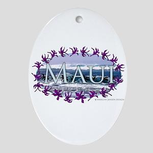 Maui Oval Ornament is pretty!