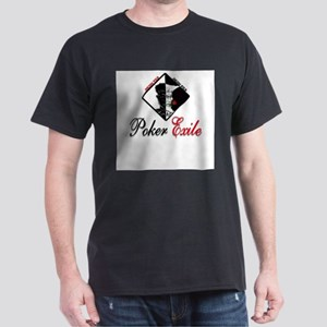 No limit Texas hold'em: Poker Exile Ash Grey T-Shi