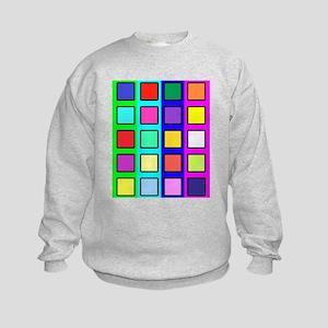 Colored blocks 5 Sweatshirt