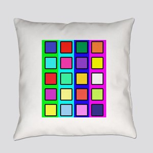 Colored blocks 5 Everyday Pillow