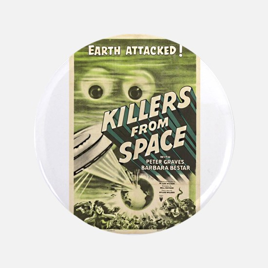 "Killers From Space 3.5"" Button"