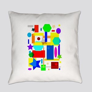 Color is art Everyday Pillow