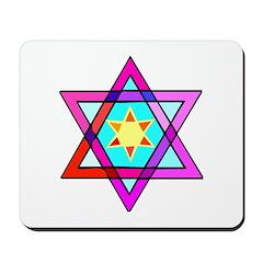 Jewish Star Of David Mousepad
