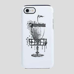 Splatter Disc Golf Basket iPhone 8/7 Tough Case