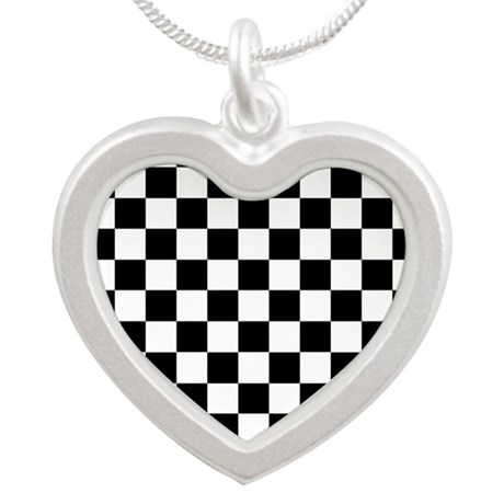 Checker Flag Race Necklaces